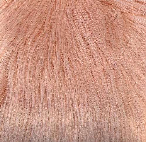 Coral Luxury Shag Faux Fur