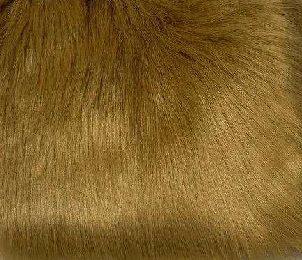 Caramel Luxury Shag Faux Fur