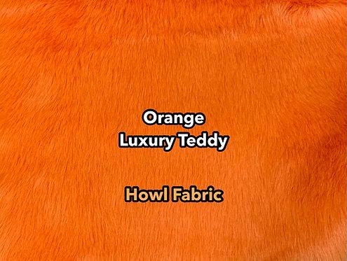 Orange Luxury Teddy Faux Fur