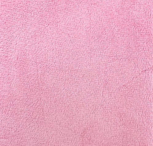Flamingo Minky Cuddle Solid Fabric