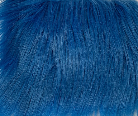 Cobalt Luxury Shag SWATCH