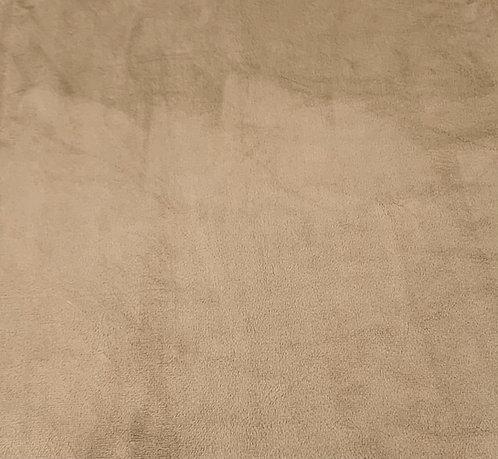Sand Minky Cuddle Solid Fabric