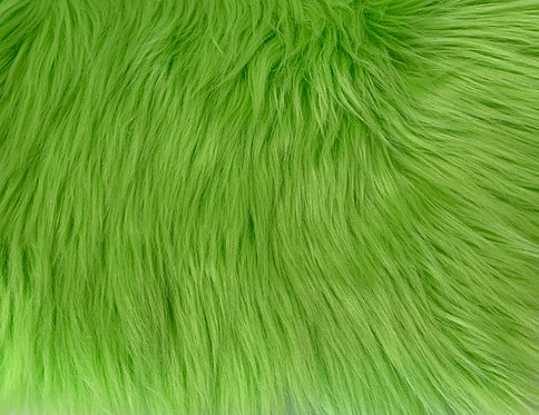 Lime Luxury Shag Faux Fur