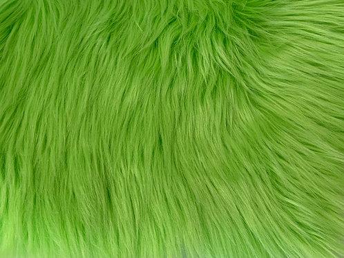Lime Luxury Shag Faux Fur