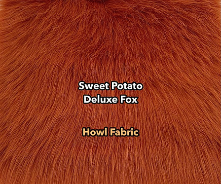 Sweet Potato Deluxe Fox Faux Fur PREORDER
