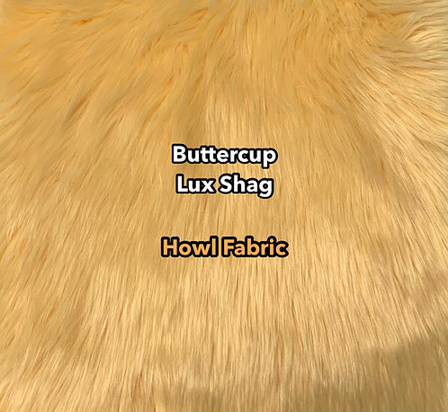 Buttercup Luxury Shag Faux Fur