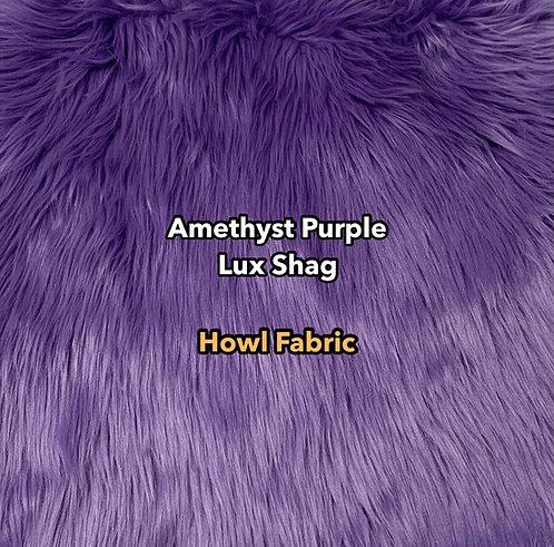 Amethyst Purple Luxury Shag Faux Fur
