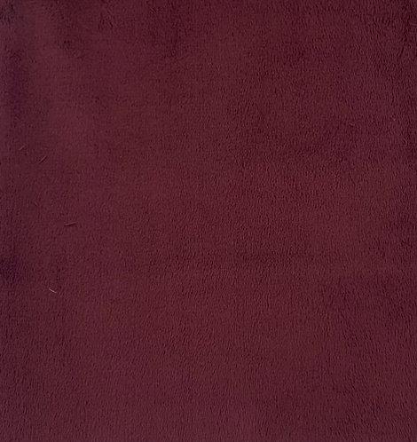 Merlot Minky Cuddle Solid Fabric