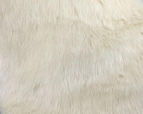 Ivory Luxury Teddy (Mink) Faux Fur SWATCH