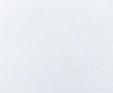 Optic White Minky Cuddle Solid Fabric