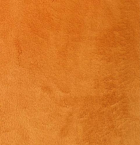 Pumpkin Minky Cuddle Solid Fabric