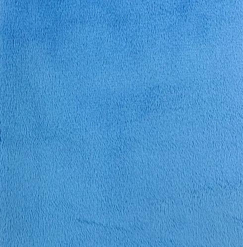 Azure Minky Cuddle Solid Fabric