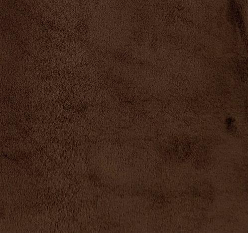 Mahogany Minky Cuddle Solid Fabric