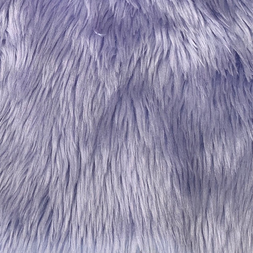 """Pale Lilac 1"""" Shaggy SWATCH"""