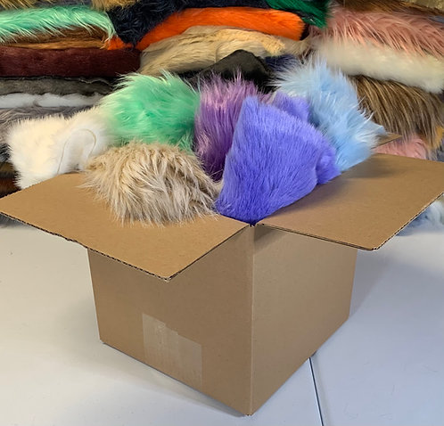 Faux Fur Small Remnant Box (3+ Yards)