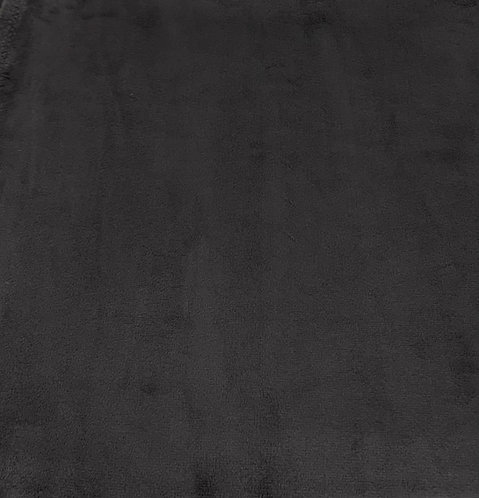 Ash Minky Cuddle Solid Fabric