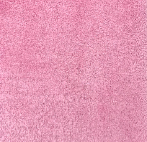 Hot Pink Minky Cuddle Solid Fabric