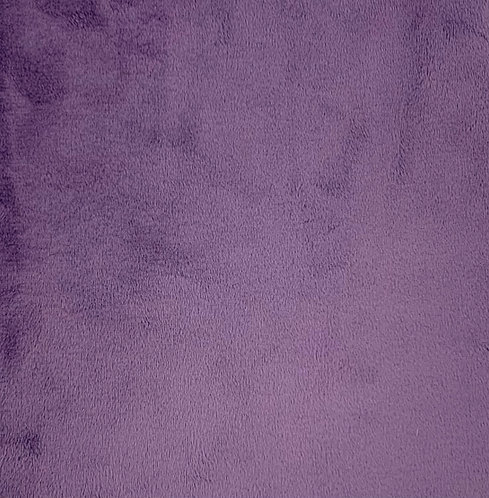 Violet Minky Cuddle Solid Fabric