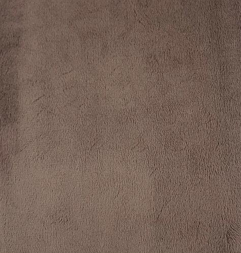 Cocoa Minky Cuddle Solid Fabric