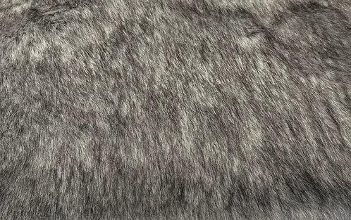 Grey Wolf Faux Fur