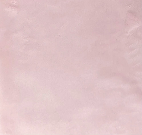 Baby Pink Minky Cuddle Solid Fabric