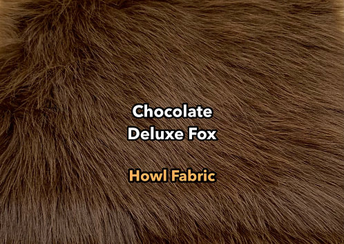 Chocolate Deluxe Fox Faux Fur
