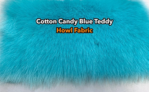 Cotton Candy Blue Teddy SWATCH