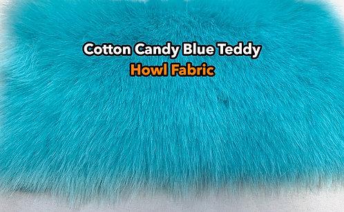 Cotton Candy Blue Faux Fur Fabric