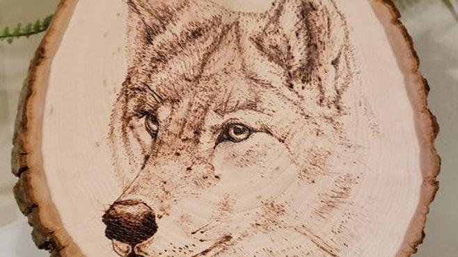 Lone Wolf Wood-burning