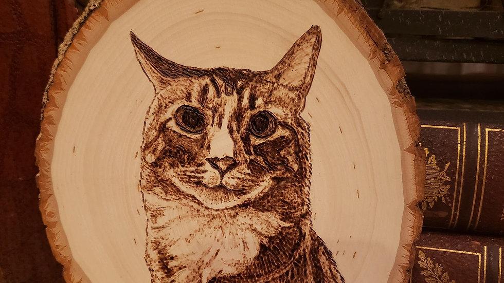 CUSTOM Animal Wood-burned Art