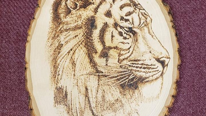 Regal Tiger Wood-burning