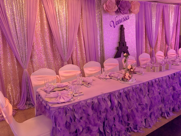 Damas & Chambelanes Seating