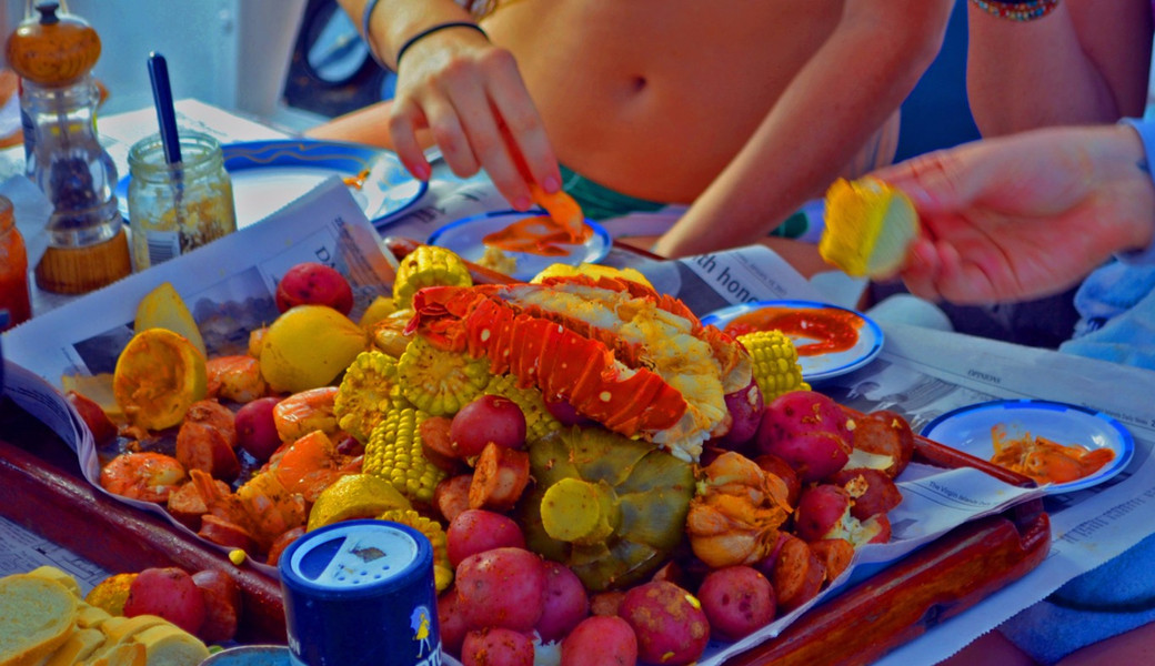 The lobster feast!