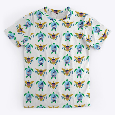 Turtles and Flags Tee