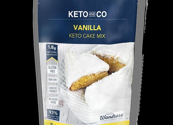 Keto & Co Vanilla Cake Mix