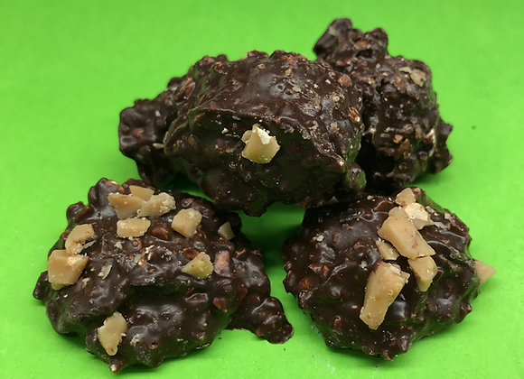 Cashew Toffee Clusters