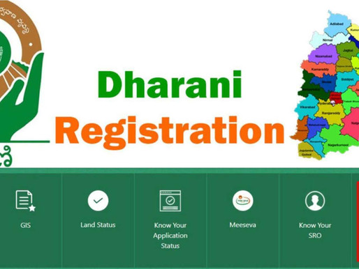 Telangana Dharani Agriculture Land Registrations: Status as on Dec 20, 2020