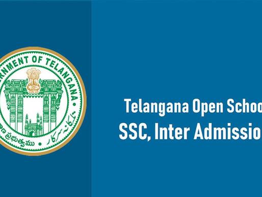SSC & INTERMEDIATE (TOSS)PUBLIC EXAMINATIONS, July 2020, TELANGANA, TATKAL EXAMINATION FEE