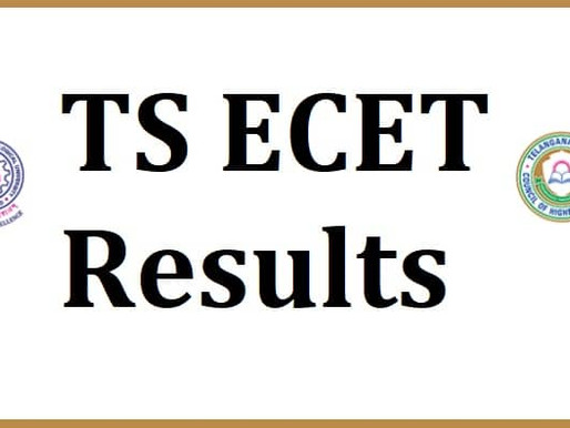 TSECET 2021 Results: Latest Update: TS ECET 2021