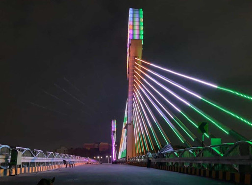 Iconic Durgam Cheruvu Cable Bridge in Hyd thrown open to public