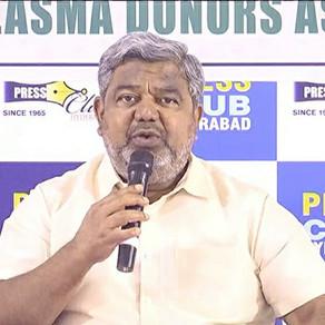 Telangana Plasma Donors Association begins activities in Warangal