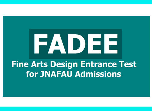 JNAFAU Hyd FADEE 2020 Entrance Exam Postponed