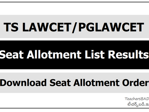 TS Lawcet 2020 Final Phase Seat Allotment: LLB/ LLM Admissions: Latest Update