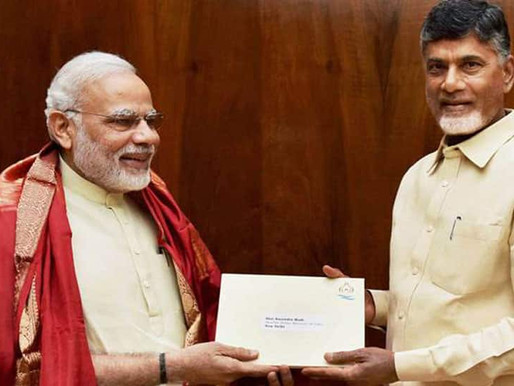TDP-BJP alliance in Andhra for 2024 Assembly, Lok Sabha elections!!