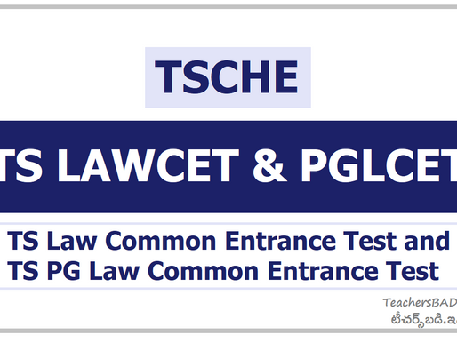 TS Lawcet/ PGLCET 2020 First Phase Counselling: Latest Update