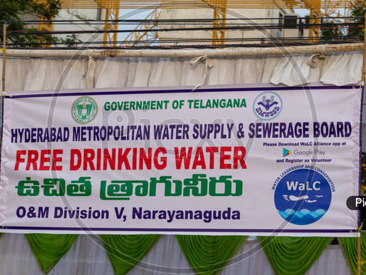 Free Drinking Water Supply in Hyd from Dec 2020 up to 20KL/month: Orders issued
