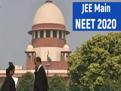 JEE Main, NEET: Supreme Court to hear postponement case tomorrow, Sep 4