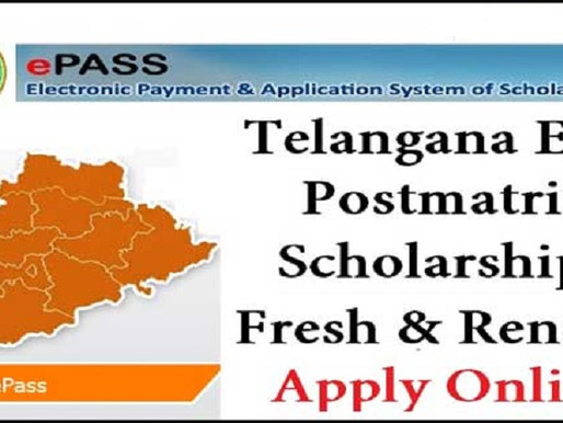Telangana Epass (TS-Epass): SC, ST, BC, EBC, Minority, PHC post-matric scholarships (PMS) 2020-21