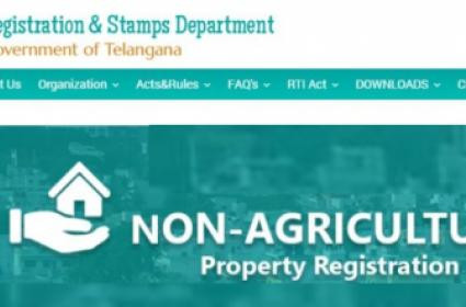 Non-agri property registrations in Telangana, Rules relaxed