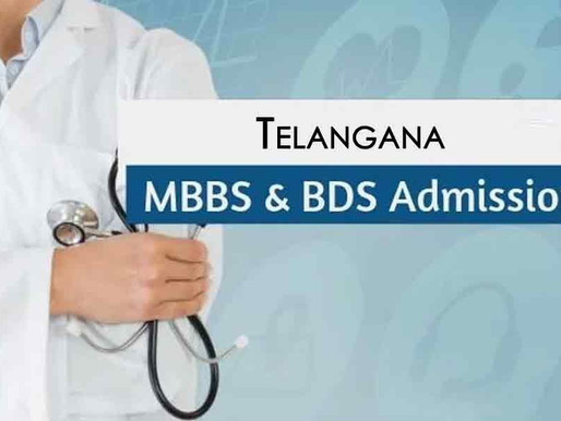 MBBS/ BDS courses fee structure in Telangana 2020-21: Latest Update